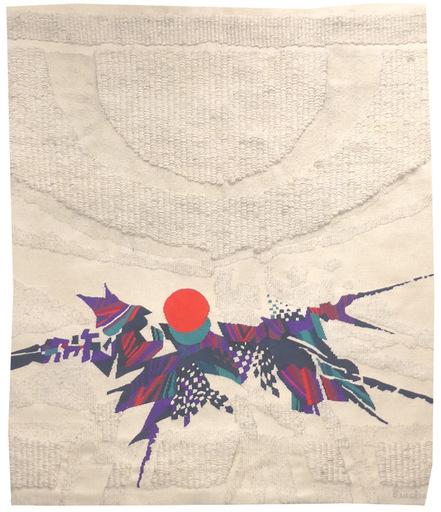 Jacques BRACHET - Tapisserie - Hommage à Yukio Mishima