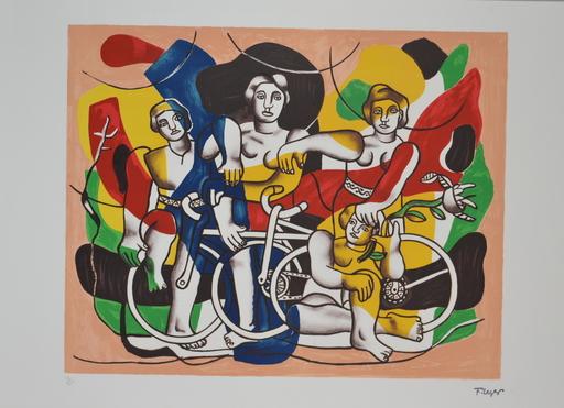 Fernand LÉGER - Print-Multiple - Bikers