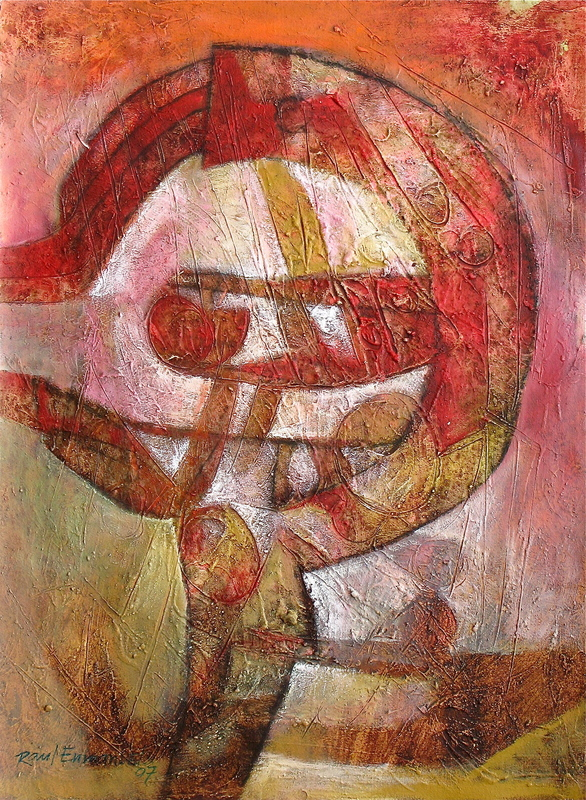Raul ENMANUEL - Pintura - Circular