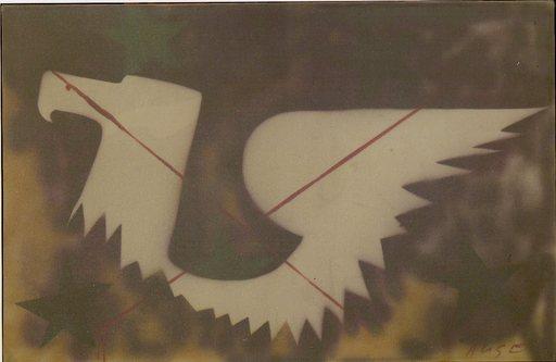 Franco ANGELI - Peinture - SENZA TITOLO
