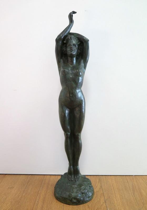Ferdinand PARPAN - Sculpture-Volume - Jeune femme nue