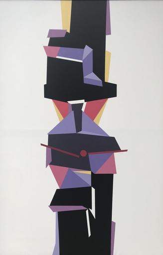 Pedro DE ORAA - Peinture - Totem