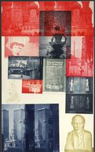 Robert RAUSCHENBERG (1925-2008) - Soviet/American Array I, ed. 18/55