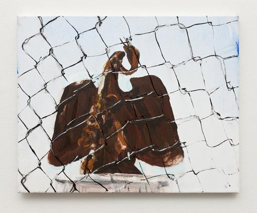 Brian MAGUIRE - Peinture - Cordova International Bridge USA