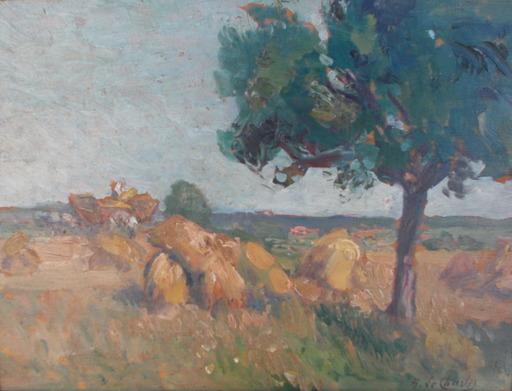 Henri LE CHARLES - Pintura - Le gatinais
