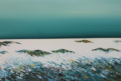Françoise PELLETER-SIMON - Painting - Composition marine