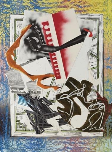 Frank STELLA - Print-Multiple - Going Abroad .... Ahab's Leg