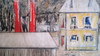 Edgar STOEBEL - 绘画 - Landscape with Yellow House
