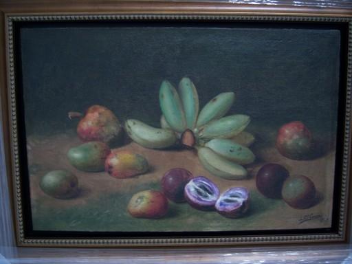 Juan GIL GARCIA - Pintura - Frutas y Platanos