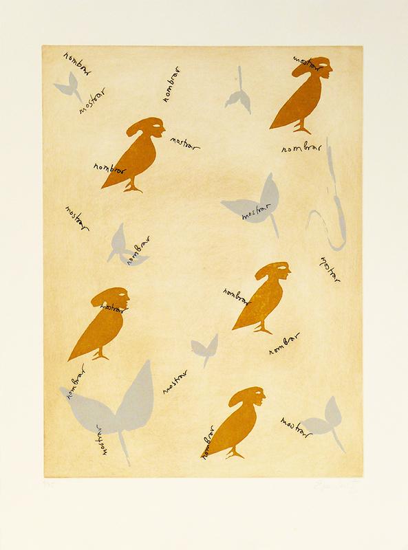 Eva LOOTZ - Print-Multiple - Leaves II