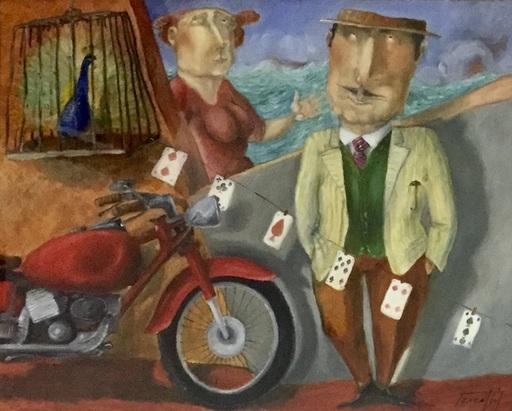 Pino PROCOPIO - Painting - Il gagà