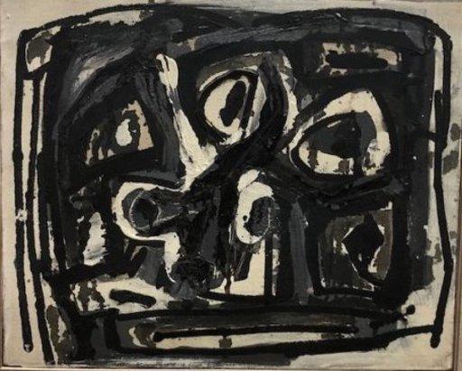Antonio SAURA - Peinture - Cabeza