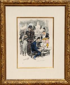 Kees VAN DONGEN - Stampa-Multiplo - Montmartre 1900