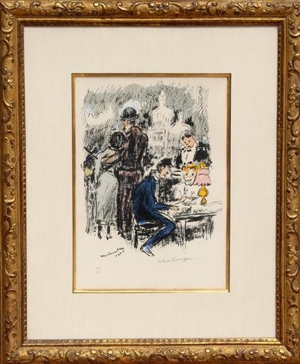 Kees VAN DONGEN - Stampa Multiplo - Montmartre 1900