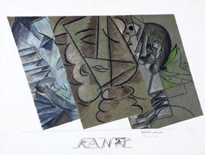 Aldo MONDINO - Drawing-Watercolor - KantaTre