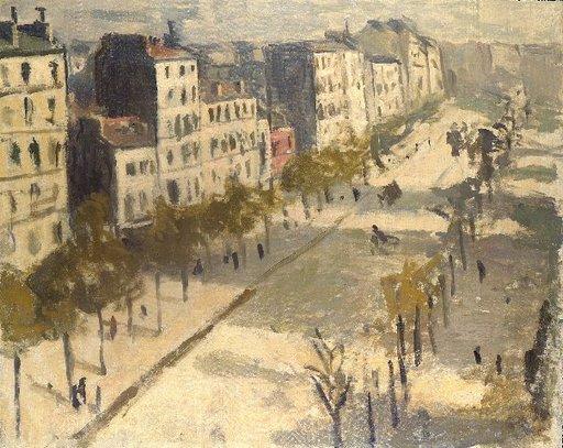 Albert MARQUET - Painting - avenue de Versailles