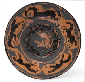 Pablo PICASSO - Ceramiche - Assiette aux chevaux
