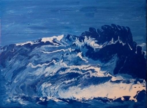 NADIA - Peinture - Traversée vers un nouveau destin