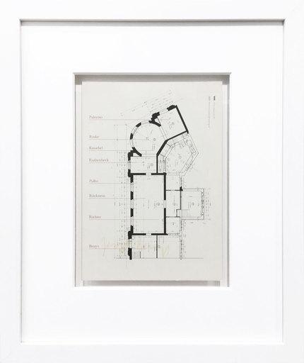 Joseph BEUYS - Grabado - Ausstellungsplan