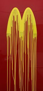 ZEVS - 绘画 - Liquidated McDonalds
