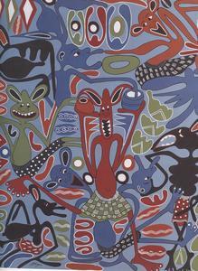 George LILANGA - Pintura - Senza titolo