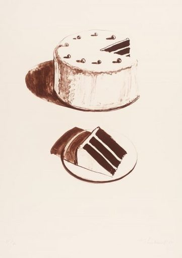 Morton Wayne THIEBAUD - Print-Multiple - Chocolate Cake