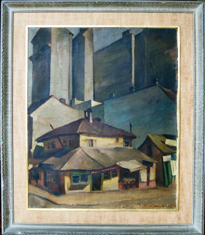 Boris PASTOUKHOFF - Pintura - Paris-Street View