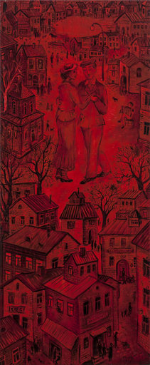 Vasily KAFANOV - Painting - Red dance
