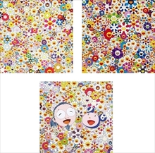 Takashi MURAKAMI - Print-Multiple - Field of Smiling Flowers/ If I Could Reach That Field of Flo