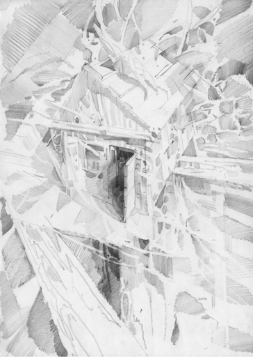 Leonid TOMILIN - Drawing-Watercolor - Space and Time