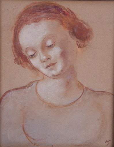 Helena Sofia SCHJERFBECK - Peinture - No Title