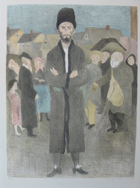 Raphael SOYER - Print-Multiple - The Old Country