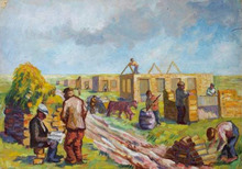 Issachar Ber RYBACK - Painting - Construction