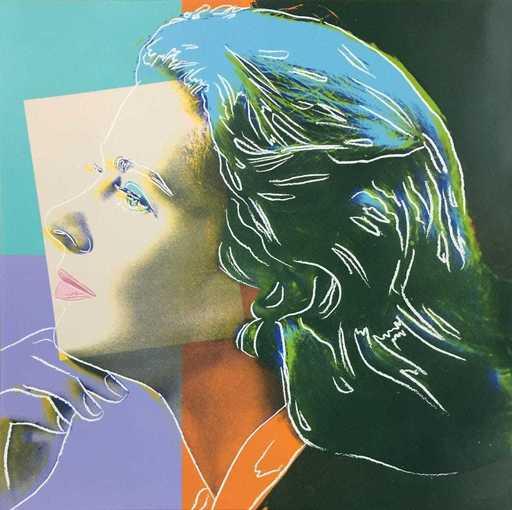安迪·沃霍尔 - 版画 - Ingrid Bergman Herself FS II.313