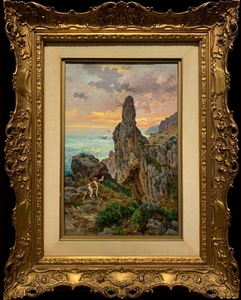 Antonino LETO - Pintura - Pizzolungo a Capri