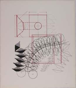 Agostino BONALUMI - Grabado - Composizione