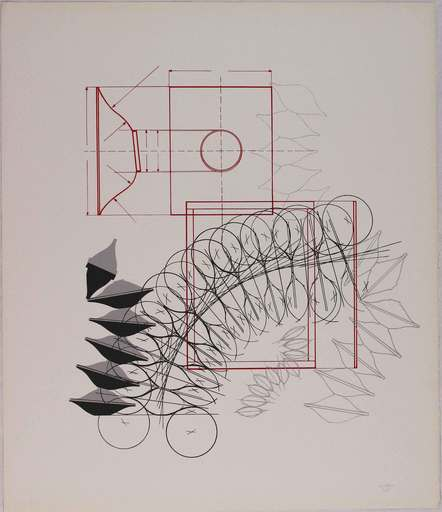Agostino BONALUMI - Print-Multiple - Composizione