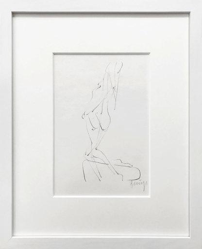 Joseph BEUYS - Grabado - Rueckenakt - Nude