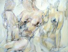 Ludmilla MOSHEK - Painting - Complicité