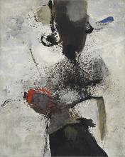Giuseppe SANTOMASO - Painting - Minaccia