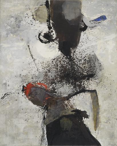 Giuseppe SANTOMASO - Pintura - Minaccia