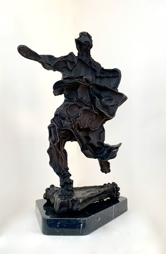 """萨尔瓦多·达利 - 雕塑 - Grand """"L'âme de Don Quichotte"""""""