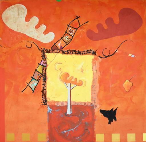 Piotr KLEMENSIEWICZ - Painting - sans titre - 1992