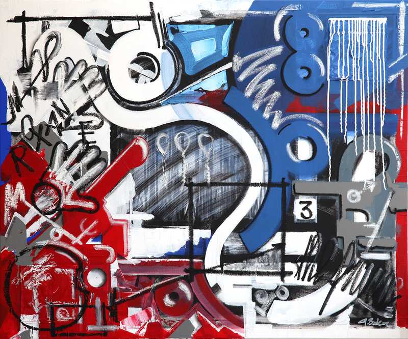 Ghazi BAKER - Painting - roxane