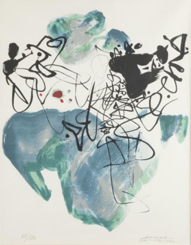 CHU Teh-Chun - Print-Multiple - Universal Peace