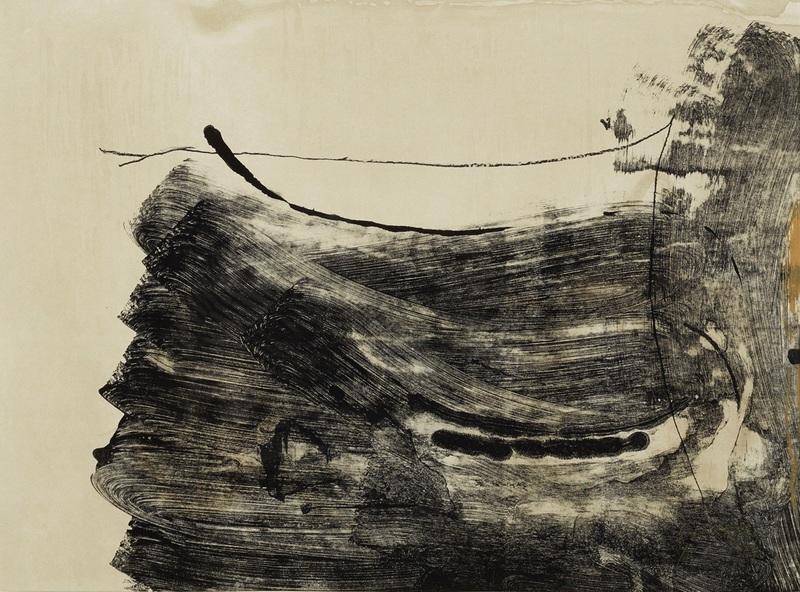 Helen FRANKENTHALER - Print-Multiple - Ochre dust