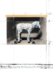 CHRISTO - Print-Multiple - Wrapped Horse (Project for Neo-Dada)