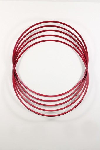 Shayne DARK - Sculpture-Volume - Erratic Colour Candy Red
