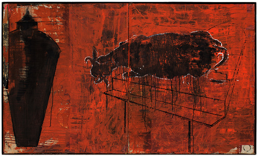 Giorgio CATTANI - Peinture - Antica casa
