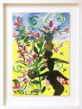 Stefan SZCZESNY - Disegno Acquarello - Shadow and Flowers